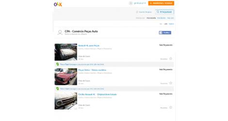 Vendas no OLX