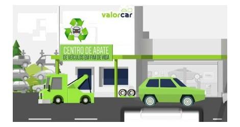 Centro de desmantelamento de Veículos em Fim de Vida acreditado por Valorcar